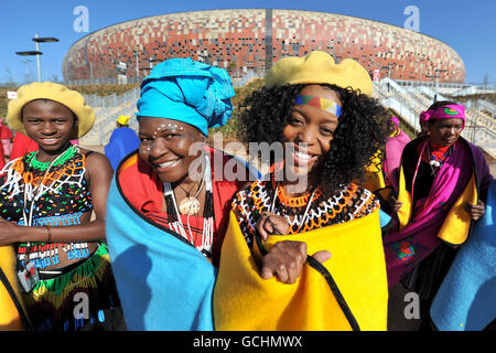 Soccer - 2010 FIFA World Cup South Africa - Soccer City Stadium - Stock Photo