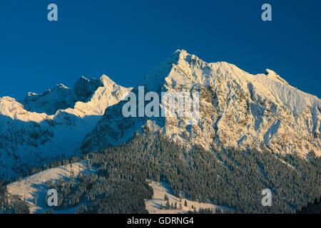 geography / travel, Germany, Bavaria, landscapes, Alps, Rubihorn, Nebelhorn, , Additional-Rights-Clearance-Info - Stock Photo