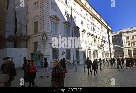 Palazzo Chigi - Stock Photo