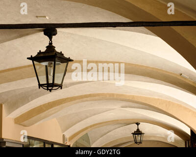 Arcades - Via Roma - Cuneo - Stock Photo