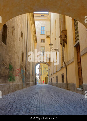 Via Saluzzo, Cuneo - Stock Photo