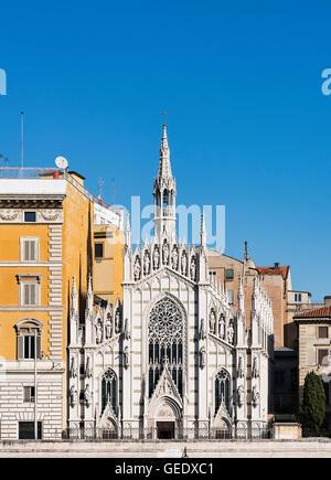 The Chiesa del Sacro Cuore di Gesù in Prati, Rome, Italy - Stock Photo
