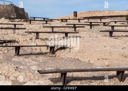 Spain, Murcia region, Lorca, landscape - Stock Photo