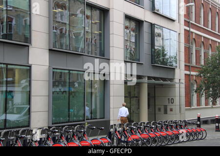 Fundraising Regulator, 10 St Bride Street, London, England, Great Britain, United Kingdom, UK, Europe - Stock Photo