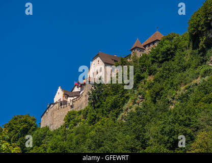 Schloss Vaduz Castle, Principality of Liechtenstein, Europe - Stock Photo