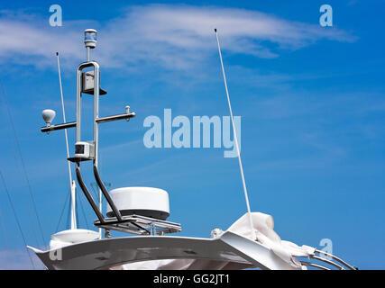GPS and antennas - Stock Photo