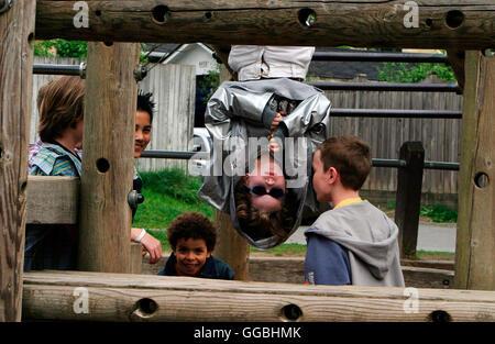 Mein Kind vom Mars / Dennis (BOBBY COLEMAN) Regie: Menno Meyjes aka. The Martian Child - Stock Photo