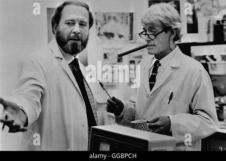 DER PROFESSOR ODER WIE ICH MEINE FRAU WIEDERERWECKE / Creator USA 1985 / Ivan Passer Ein Biologieprofessor, der - Stock Photo