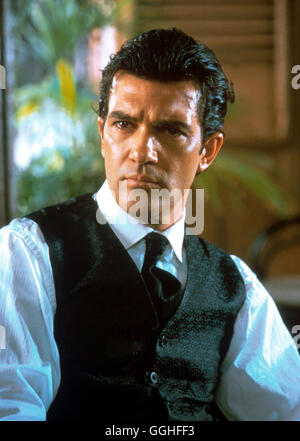ORIGINAL SIN / USA/F 2001 / Michael Cristofer Szene mit Luis Antonio Vargas (ANTONIO BANDERAS) Regie: Michael Cristofer - Stock Photo