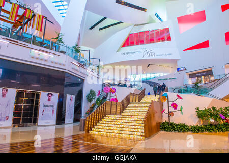 The Crystals mall in Las Vegas strip - Stock Photo