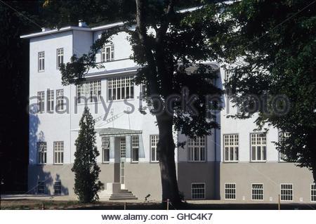 Wienerwald, Purkersdorf (Das Sanatorium Purkersdorf ist ein als Sanatorium erbautes Gebäude in Purkersdorf. Es wurde - Stock Photo