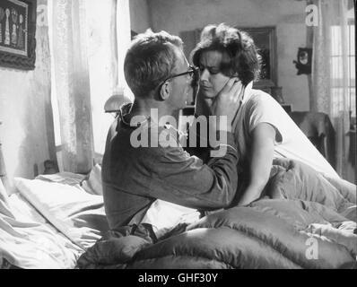 WIE IN EINEM SPIEGEL Sasom i en spegel Schweden 1961 Ingmar Bergman MAX VON SYDOW (Martin) and HARRIET ANDERSSON - Stock Photo