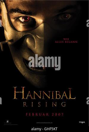 HANNIBAL RISING - WIE ALLES BEGANN Hannibal Rising Frankreich/GB/USA 2007 Peter Webber Hannibal Rising / Filmplakat - Stock Photo