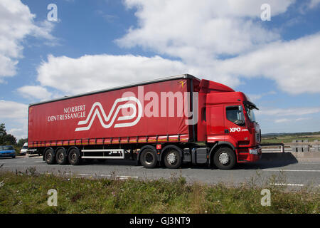 Norbert Dentressangle is a major European transport haulage, logistics and freight forwarder. It was founded in - Stock Photo