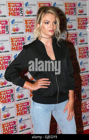 Louisa Johnson at Key 103 Summer Live. - Stock Photo