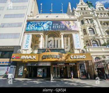 empire, Leicester Square.  IMAX cinema,  London - Stock Photo