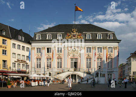 old town hall in bonn - Stock Photo
