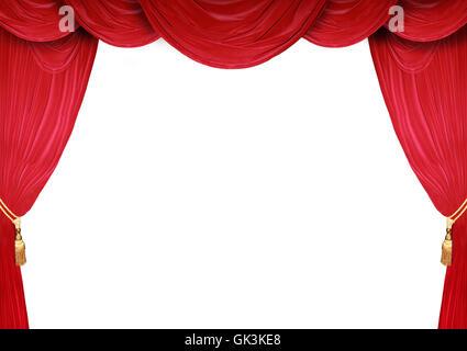 open stage theatre - Stock Photo