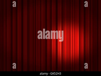 indicate show act - Stock Photo