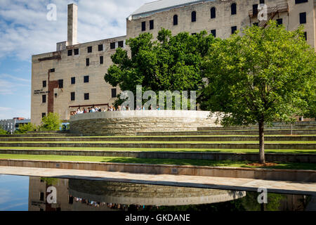 The Oklahoma City Bombing Memorial. - Stock Photo