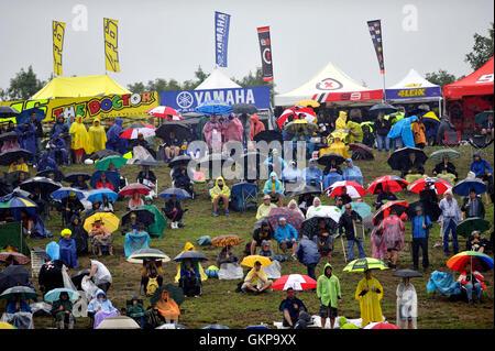 Brno, Czech Republic. 21st Aug, 2016. Grand Prix of the Czech Republic 2016, Warm Up, Brno, Czech Republic, August - Stock Photo