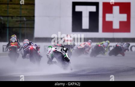 Brno, Czech Republic. 21st Aug, 2016. Grand Prix of the Czech Republic 2016, MotoGP, Brno, Czech Republic, August - Stock Photo