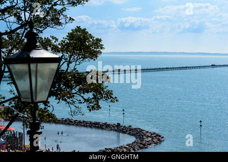The new Lagoon at Three Shells Beach Southend on Sea. - Stock Photo