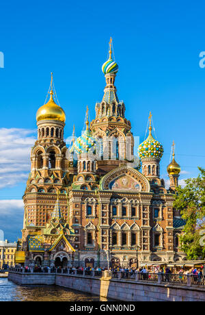 Church of the Savior on Blood - St. Petersburg, Russia - Stock Photo
