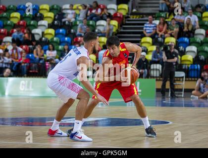 London, UK. 3rd. September, 2016. Team GB play Macedonia at Olympic Park, London, UK. copyright Carol Moir/Alamy - Stock Photo