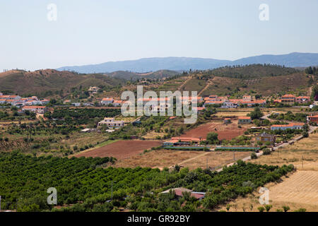Hills Near Silves, Algarve, Portugal - Stock Photo