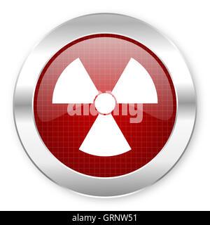 radiation icon - Stock Photo
