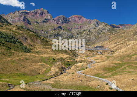 Formigal Ski Resort at summer in the Pyrenees of Huesca, Spain. - Stock Photo
