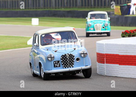 Chichester, UK. 09th Sep, 2016.  Austin A35 - St Mary's Trophy.  The Goodwood Revival is a three-day festival held - Stock Photo