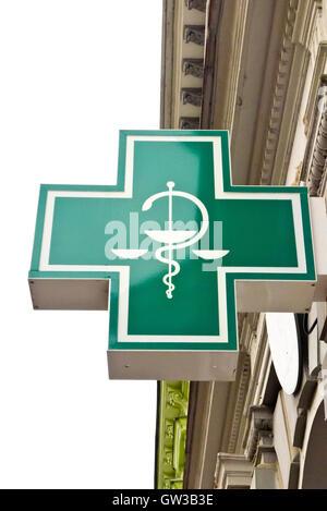 caduceus symbol of medicine - Stock Photo