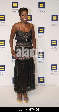 Washington, USA. 10th Sep, 2016.  The 20th Annual Human Rights Campaign (HRC) dinner takes place in Washington DC. - Stock Photo