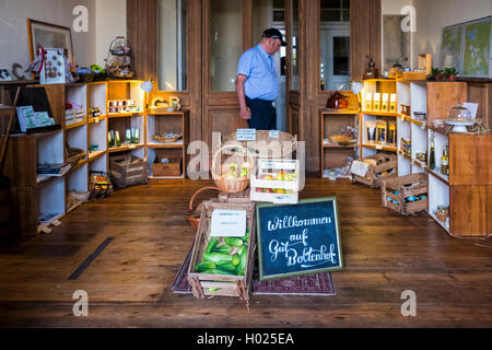 Gut Boltenhof Hotel & farm shop, Brandenburg, Germany - Stock Photo