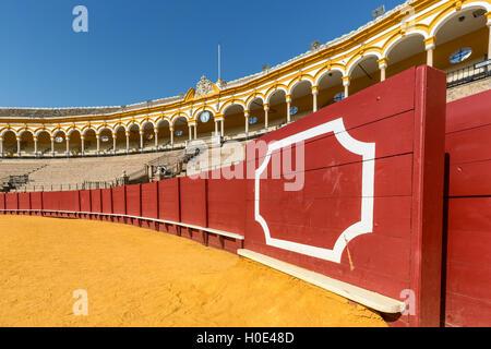 Plaza de Toros, Seville, Andalucia, Spain - Stock Photo