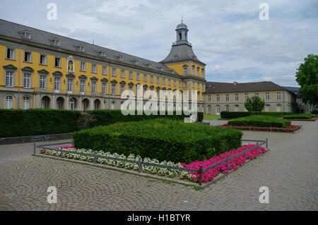 Bonn, Germany - July 10, 2011: Main building of university in Bonn - Stock Photo