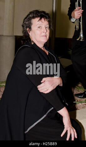 London, UK. 24th September, 2016. Carol Ann Duffy after performing at Kew Gardens Write on Festival  24th April - Stock Photo