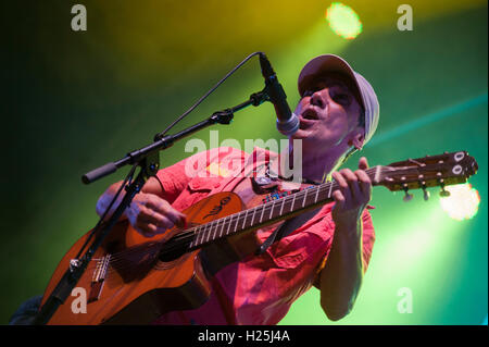 Barcelona,  Spain. 24th September 2016. Manu Chao performs in concert during day 3 of Festes de la Merce. Credit: - Stock Photo