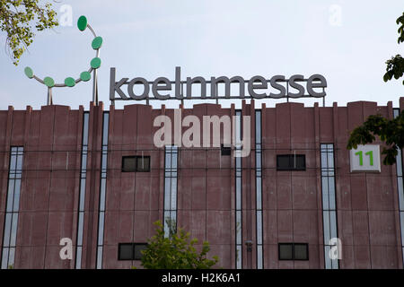 Koelnmesse trade fair building, Cologne, North Rhine-Westfalia - Stock Photo