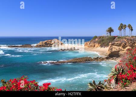Treasure Island Park, Laguna Beach, California - Stock Photo