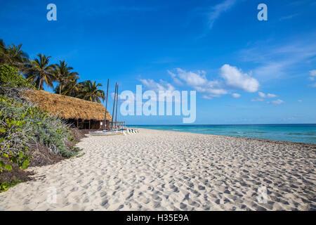 Playa Larga, Cayo Coco, Jardines del Rey, Ciego de Avila Province, Cuba, West Indies, Caribbean - Stock Photo