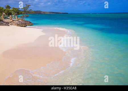 Playa Guardalvaca, Holguin Province, Cuba, West Indies, Caribbean - Stock Photo