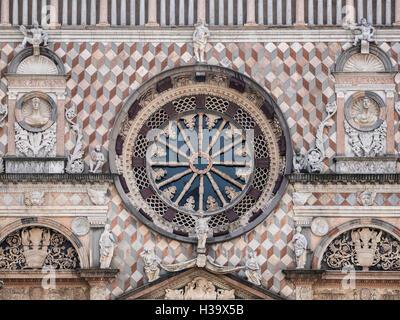 Basilica di Santa Maria Maggiore Bergamo Alta, Italy - Stock Photo