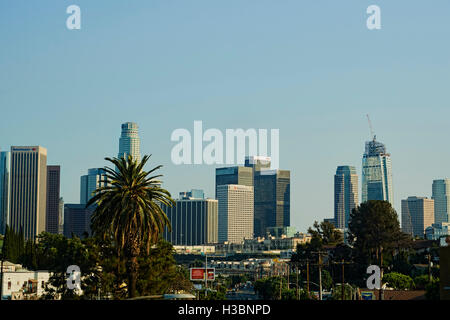 City of Los Angeles and often known by its initials L.A., is the second-largest city in the United States after - Stock Photo