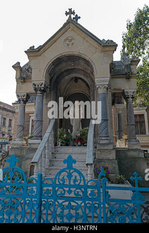 Monument of St. Mary, located in St. Mary's Square in the historic district Iosefin Timisoara, Romania. - Stock Photo