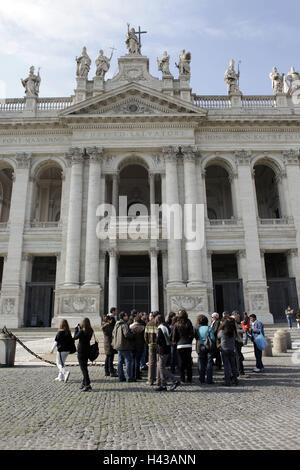 Italy, Rome, basilica San Giovanni in Laterano, - Stock Photo