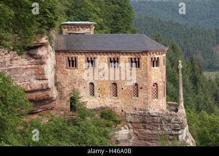Germany, Rhineland-Palatinate, Saarburger country, Kastel-Staadt, Klaus, - Stock Photo
