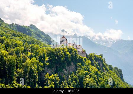 Vaduz castle in Liechtenstein - Stock Photo